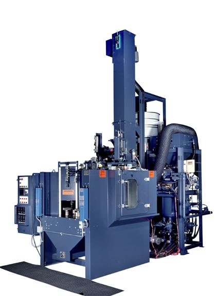 Shot Peening Systems On Empire Abrasive Equipment Co